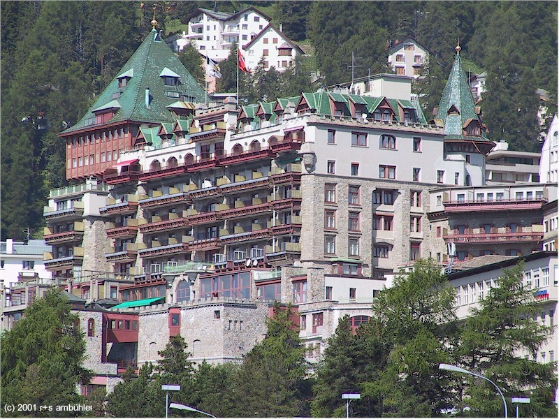 Hotel Palace In St Moritz