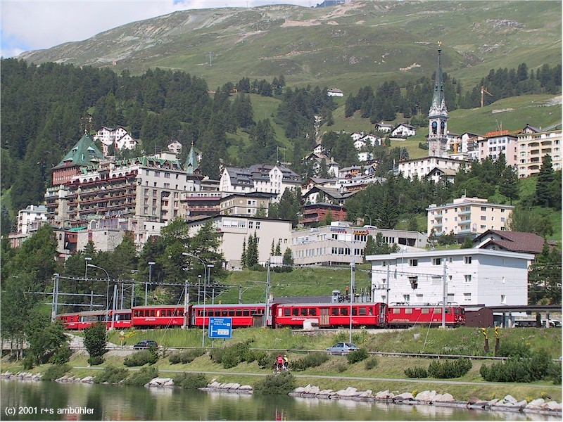 2b6c9b81569515 ... Part of St. Moritz with the railway station in the foreground ...