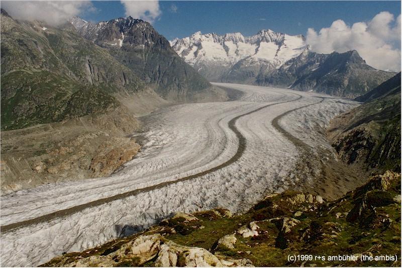 Aletschgletscher Switzerland
