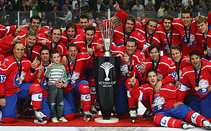 ZSC Lions - Winner of the Victoria Cup 2009