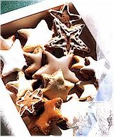 Zimtsterne (Cinnamon cookies)