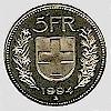 CHF 5 coin